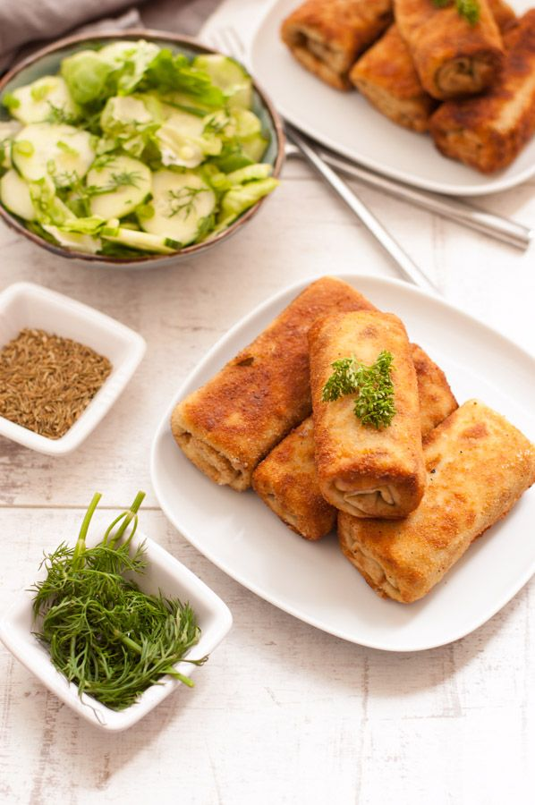 Cabbage And Mushroom Croquettes
