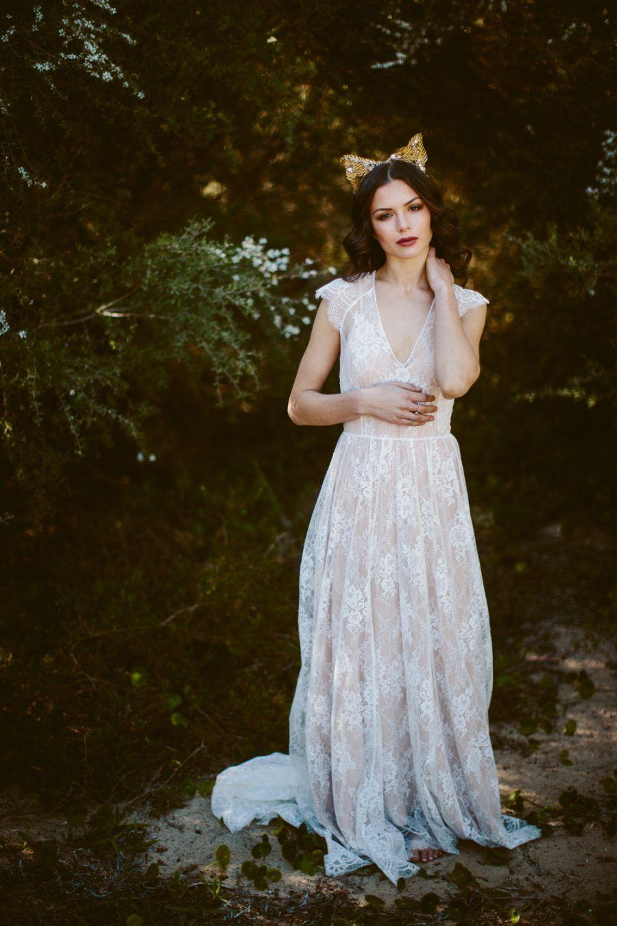 Modern Ethereal Bridal Editorial Beautiful bride, Flower