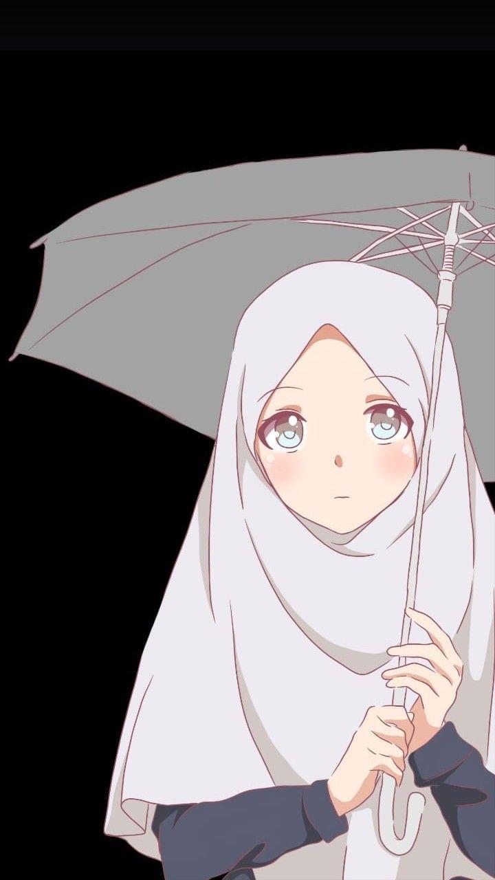 Pin Oleh Dewanti Aprilda Di Kartun Muslim Muslimah Ilustrasi Karakter Seni Islamis Kartun