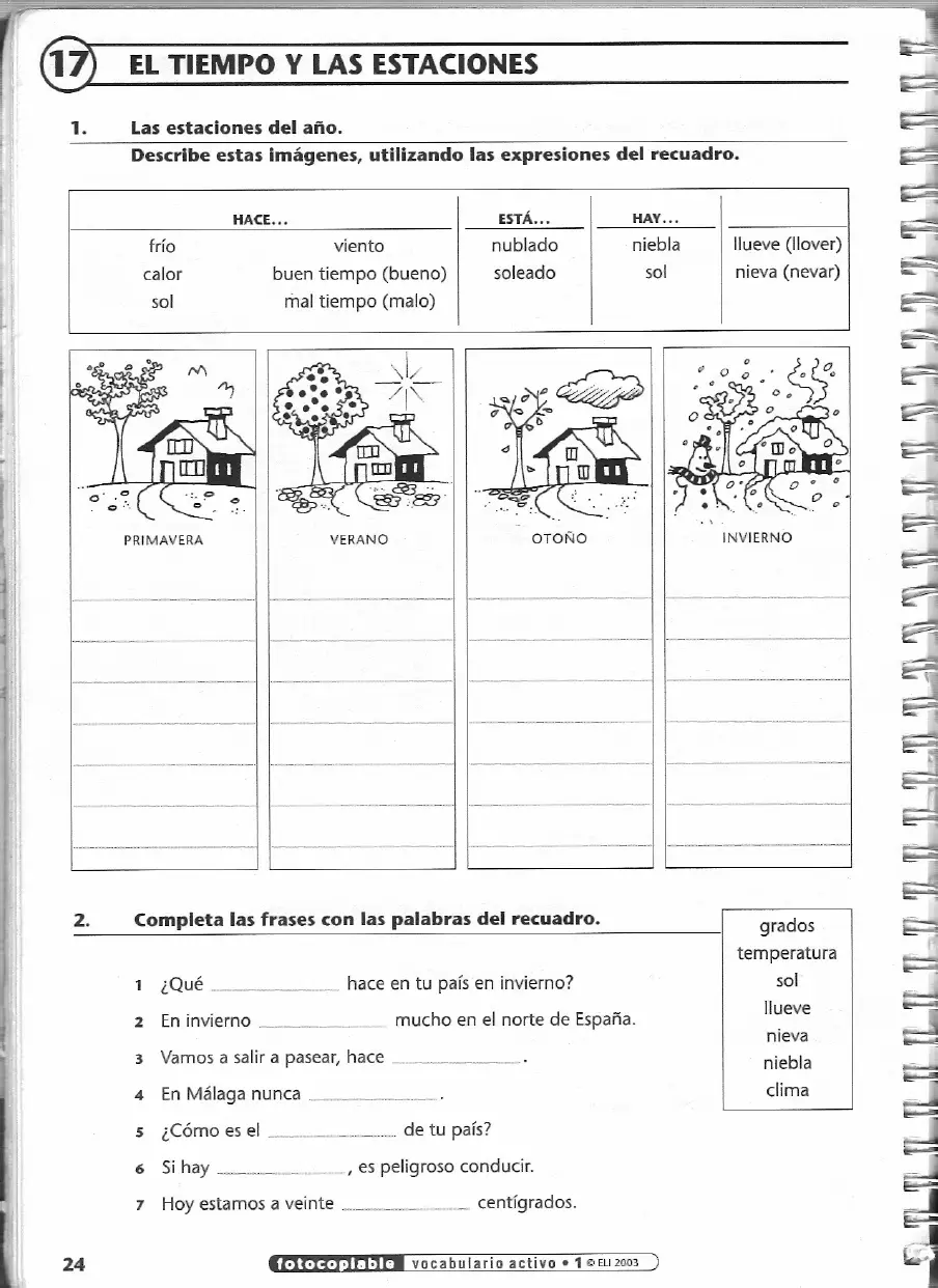 10 El Clima Ideas Spanish Weather Teaching Spanish Spanish Teacher
