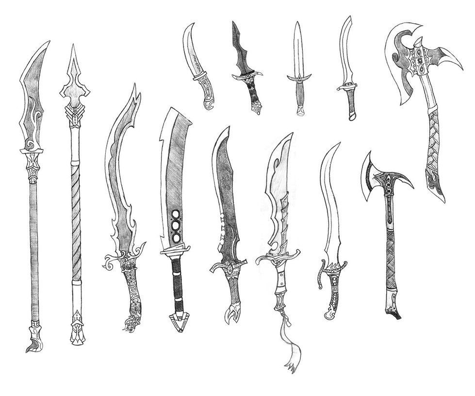 Pin By Liaml On Fatta The Land Sword Drawing Weapon Concept Art Sword Design