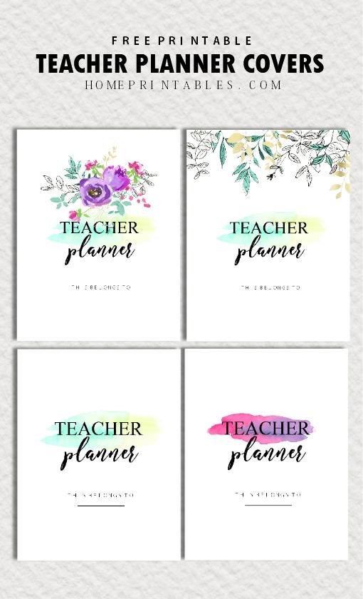 Free Teacher Planner Printables: 35 Organizing Sheets #teacherplannerfree