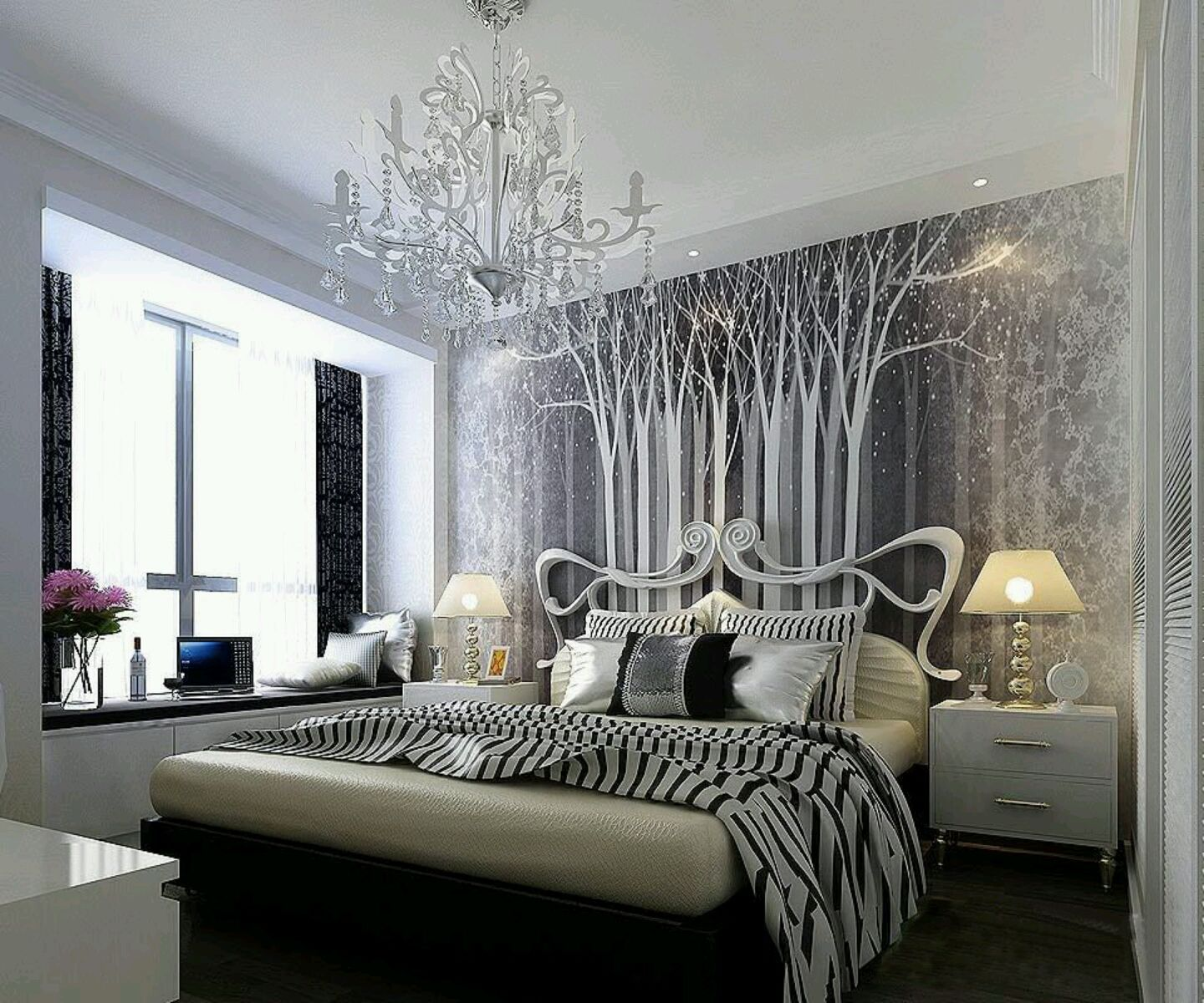 Beautiful bedroom interiors - Modern Bed Designs Beautiful Bedrooms Designs Ideas