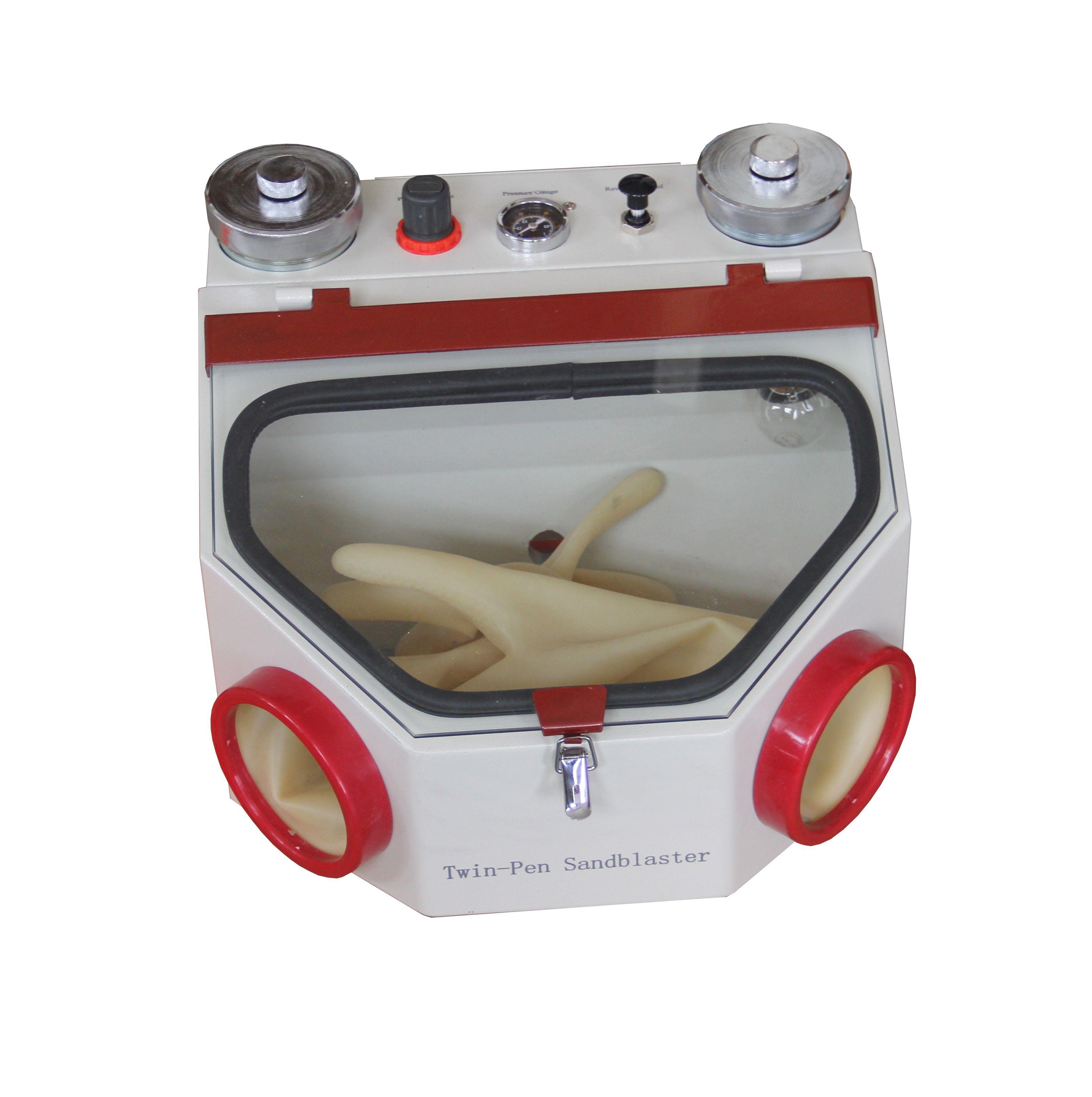 Dental Sand Blast Cabinet Suction Sand Blast Cabinet Mini Sand Blast Cabinet Lab Sand Blast Cabinet Dental Sand Equipment For Sale Mini Sandblaster Dental