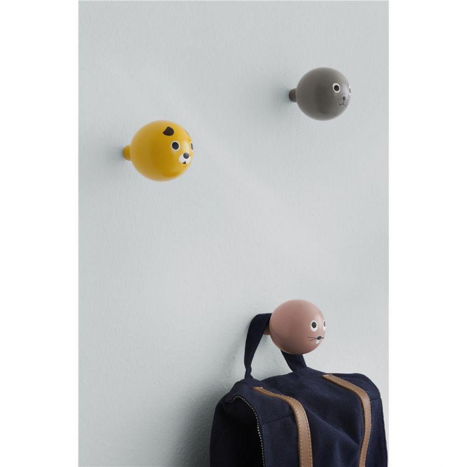 Wundervoll Garderobenhaken Kinderzimmer Ideen Von Ferm Living Hund · Seehundweihnachtsgeschenkekinderzimmer Seelöwenhaken