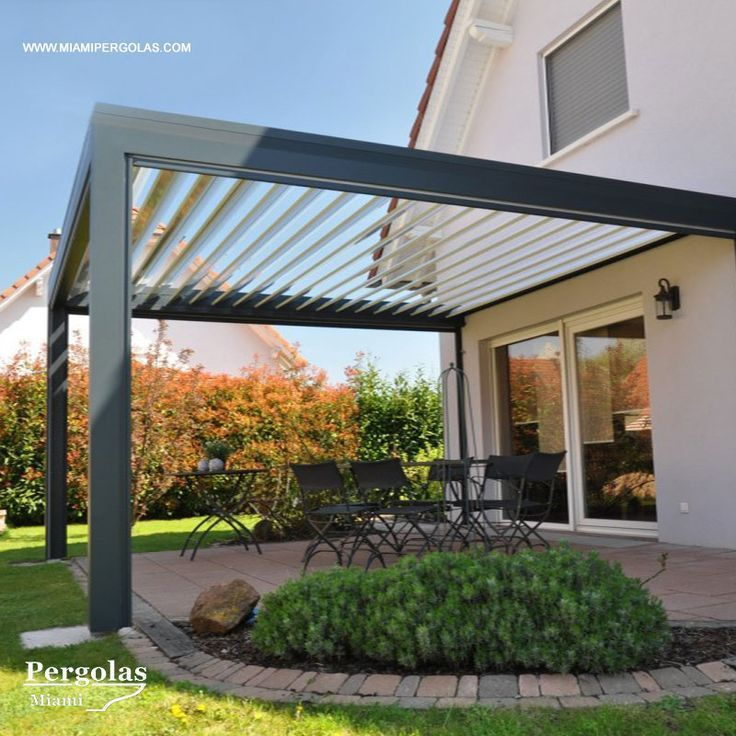 Louvered Roof Systems completely made of aluminum allows