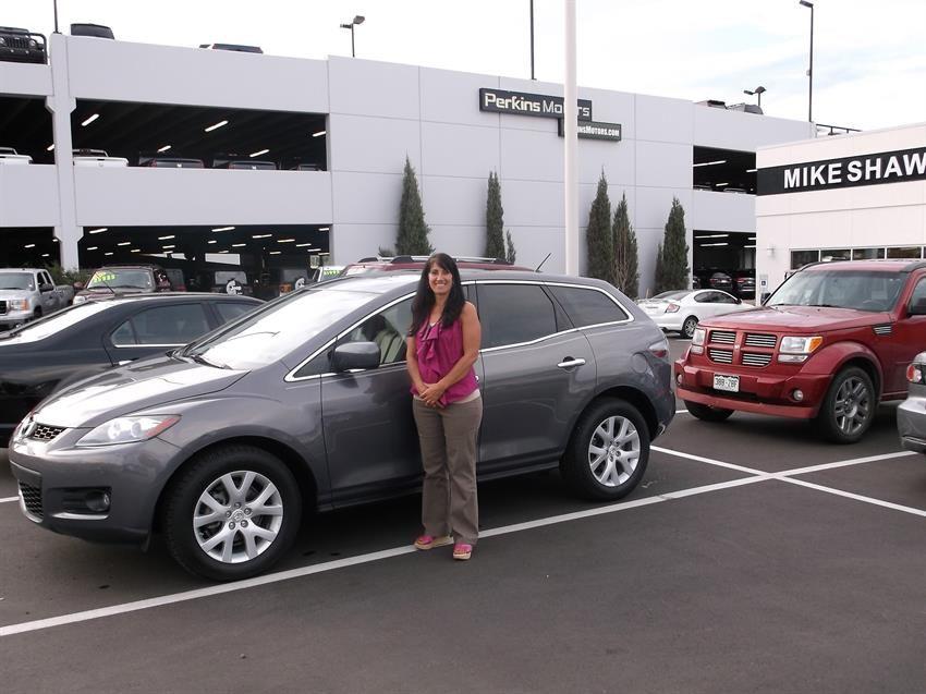 Mike Shaw Buick Gmc >> Michael And Kari S New 2007 Mazda Cx 7 Congratulations And