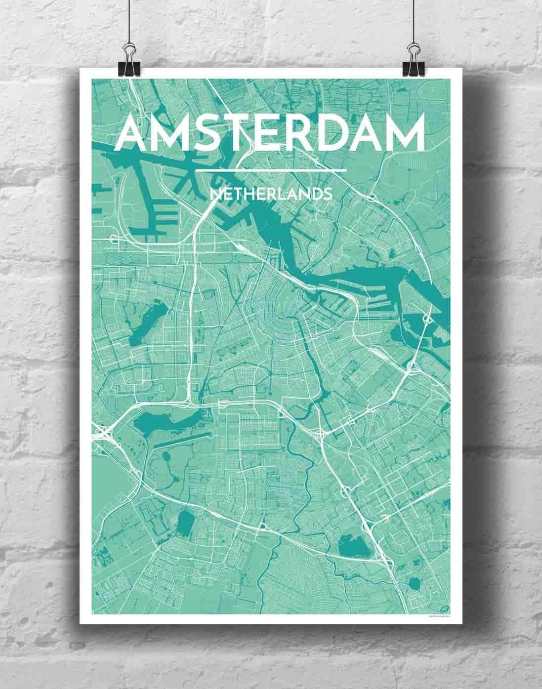 Amsterdam City Map Amsterdam City Map