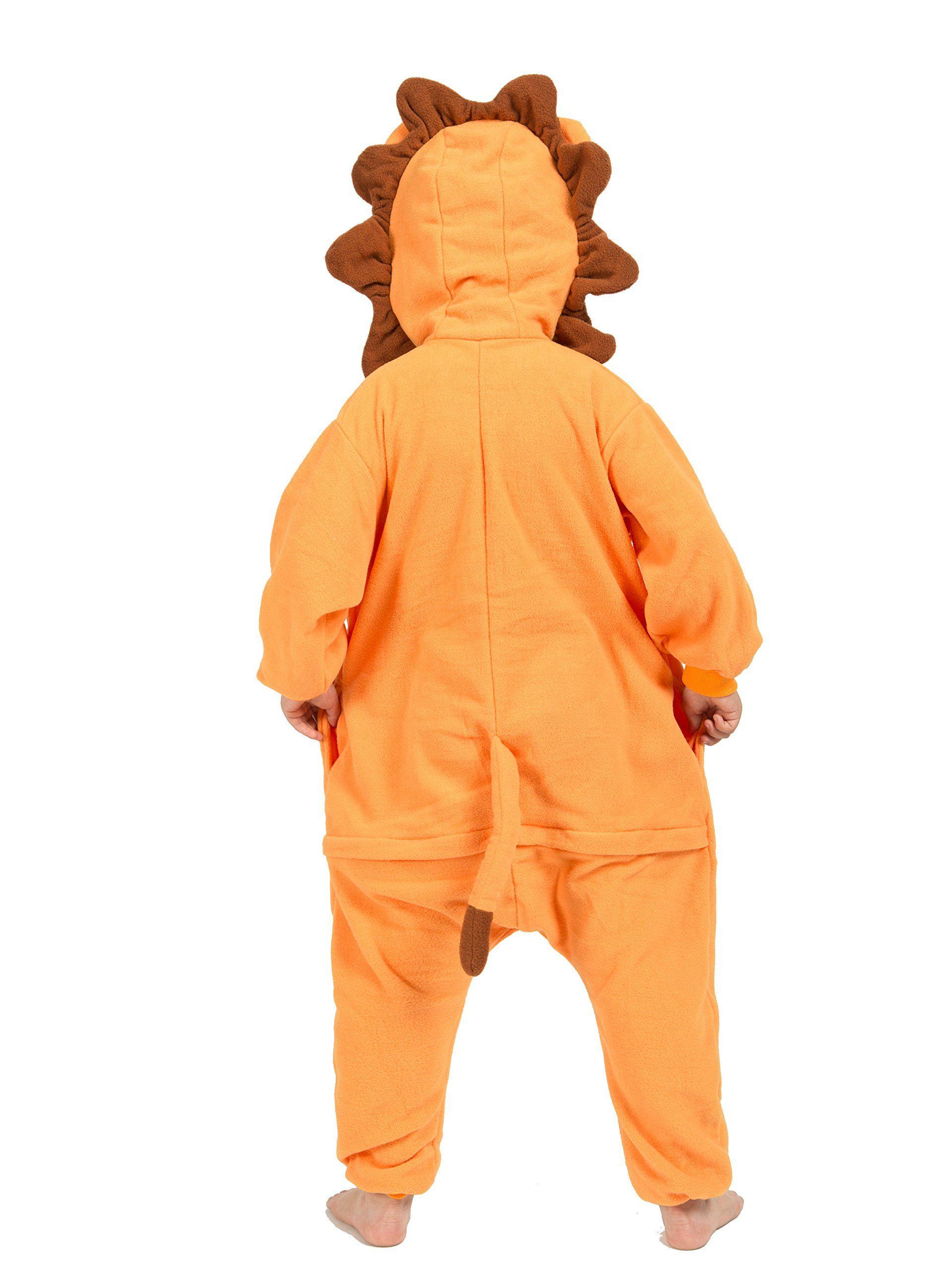BELIFECOS Childrens Lion Costumes Animal Onesies Kids Homewear Pajamas