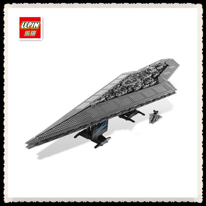 3208PCS LEPIN 05028 Star Wars Building Blocks Imperial Star Destroyer Model action Bricks Toys Compatible 75055  EUR 101.63  Meer informatie  http://ift.tt/2rbnHao #aliexpress