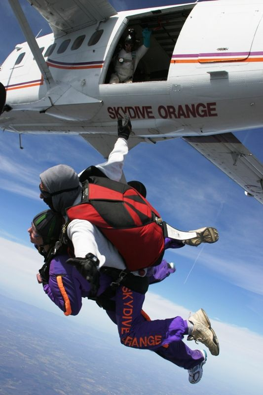 As Dad Would Say Why Would You Jump Out Of A Perfectly Good Airplane Well Just Once I Want To Do It Tandem Jump Best Airplane Skydiving