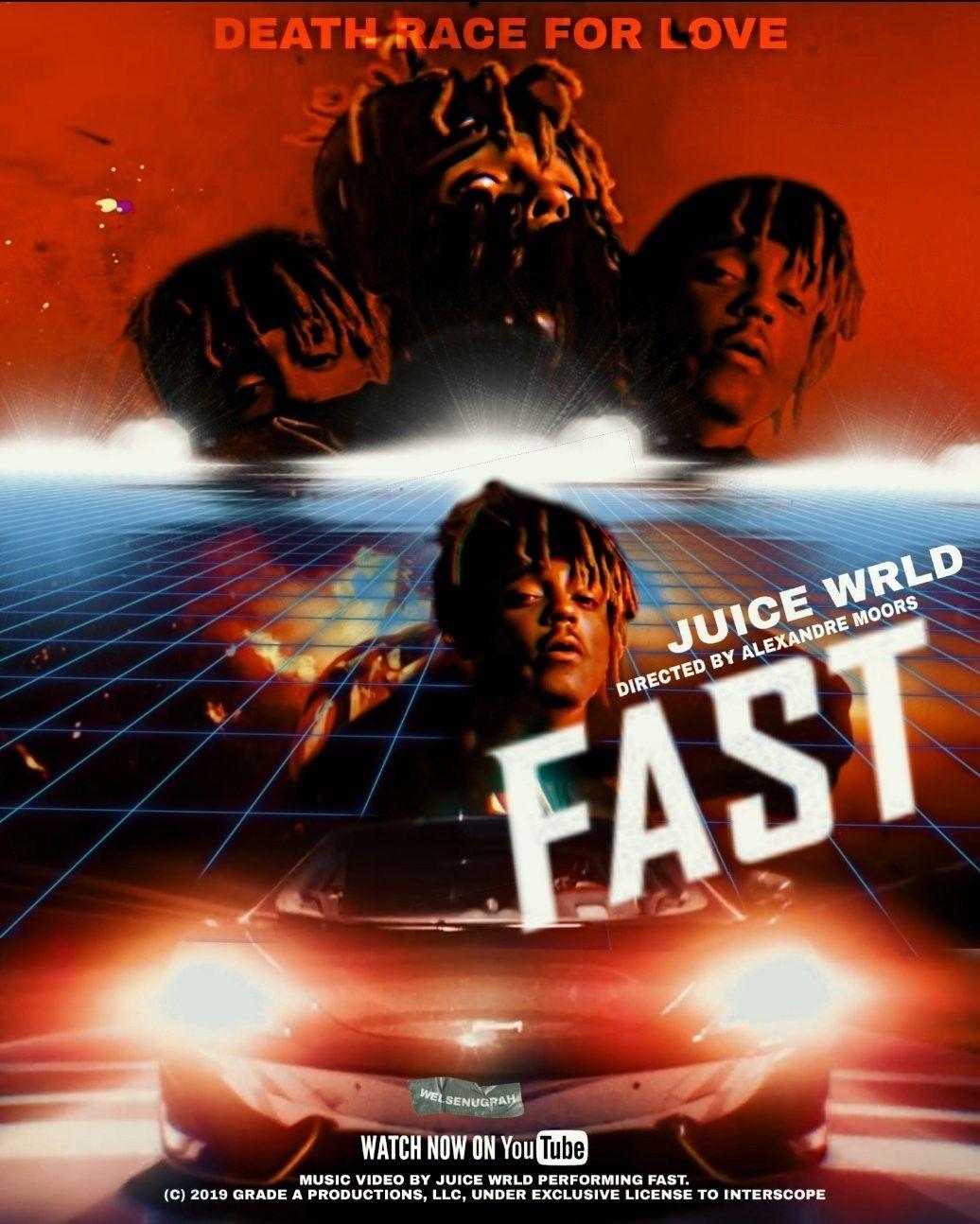 JuiceWrld / #Fast / #Wallpaper / #Music / #Poster