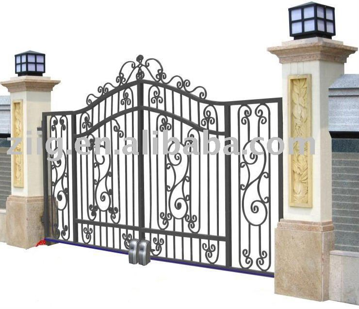 wrought iron fencing for my home | Wrought iron fence | Pinterest ...