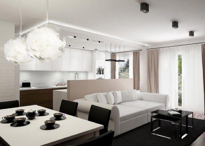 soggiorno piccolo con angolo cottura - raffinata zona living ... - Soggiorno Piccolo Con Angolo Cottura