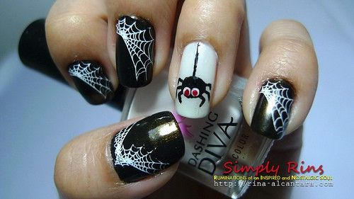 cute halloween nails - Google Search