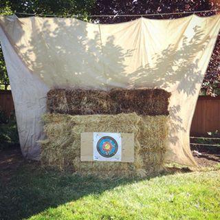 Attrayant Backyard Archery Setup   Google Search