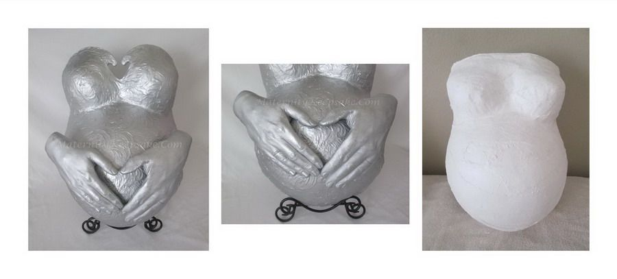 Ask how Maternity Keepsake can transform your belly cast into something beautiful!