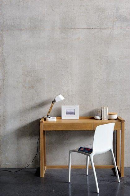pin von ikarus design auf b ro pinterest betonwand buero und schreibtisch. Black Bedroom Furniture Sets. Home Design Ideas