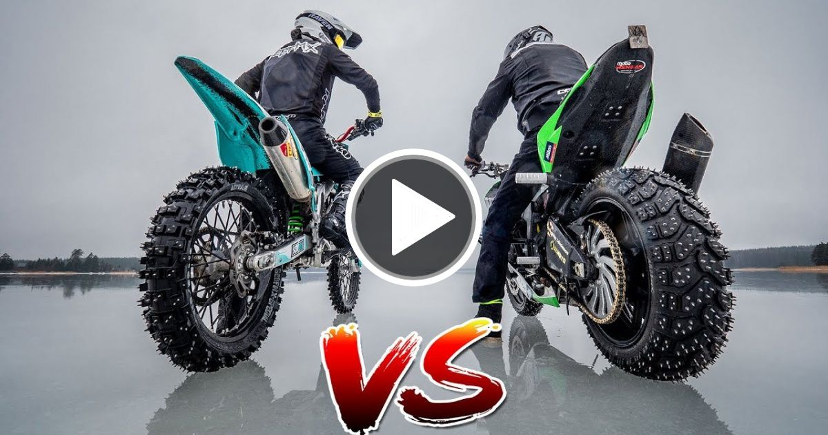 Dirtbike Vs Streetbike 3 0 Viral Chop Video Dirt Bikes