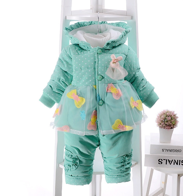 21.74$  Buy now - 2016 winter new born infant baby girl clothes clothing set sets 2 pieces pcs floral pink yellow sweet cute princess  #SHOPPING