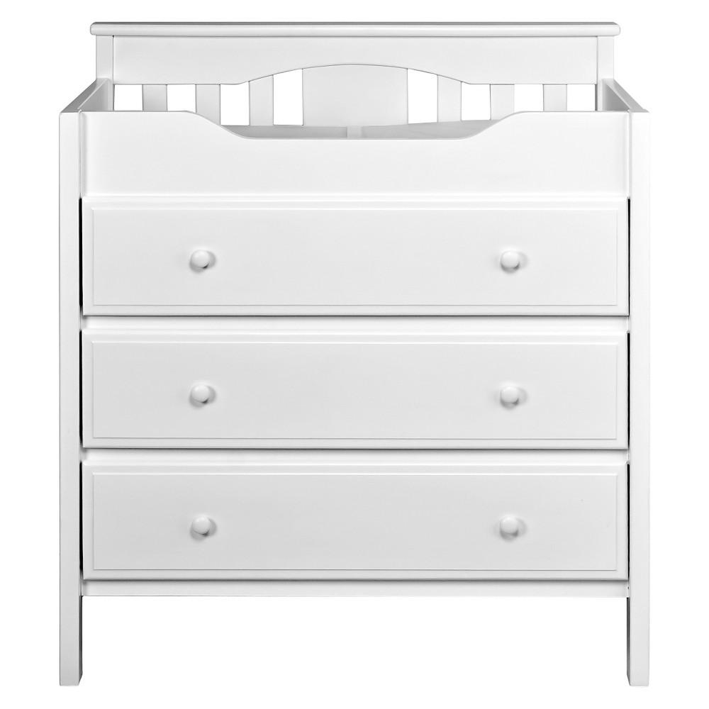 Davinci jayden drawer changer dresser white products