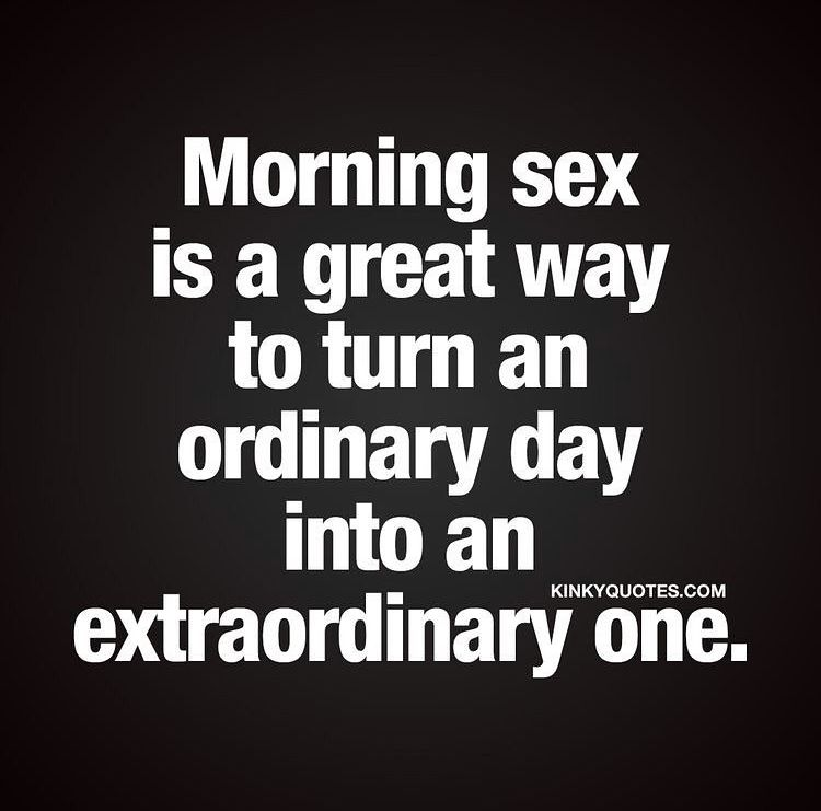 Funny morning sex quotes