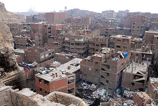 Pic Of The Day Egypt S Garbage City Slums City Cairo