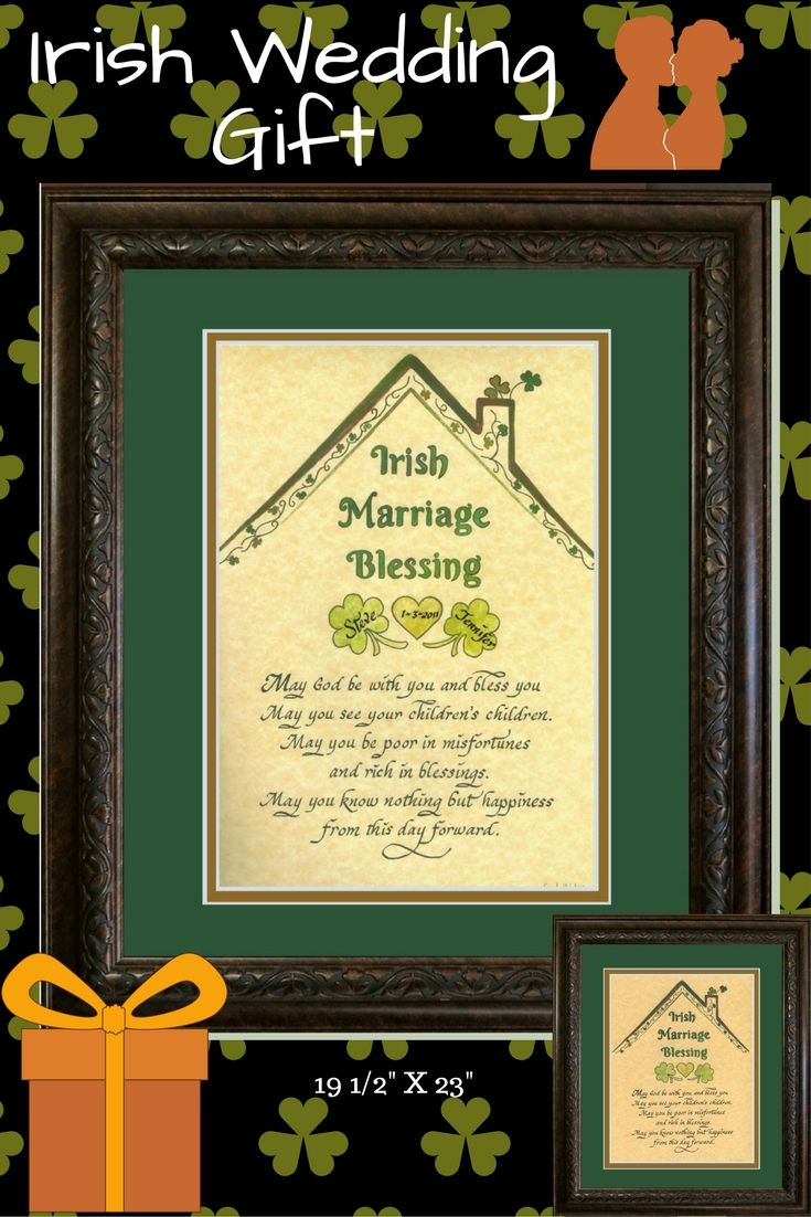 Irish Marriage Blessing Prayer will definitely make a very nice ...