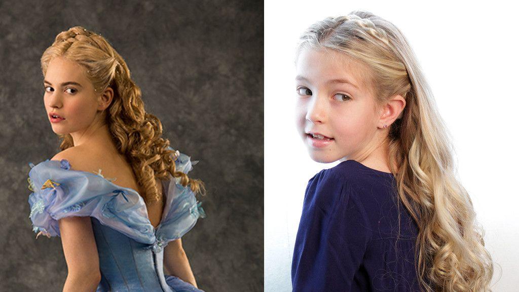 Cinderellahairstyle Pretty Hair Is Fun Disney Cinderella At The