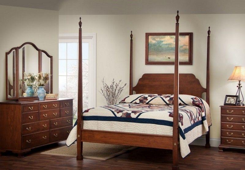 Colonial Bedroom Set