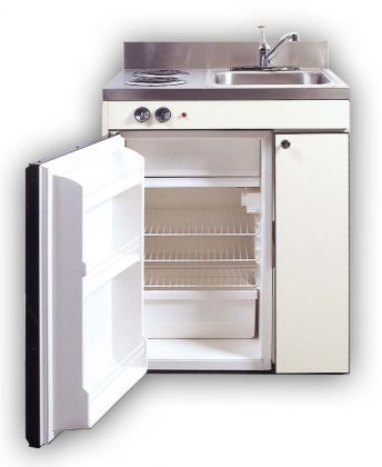 All In One Kitchen The Size Of A Full Stove Top Compact Kitchen
