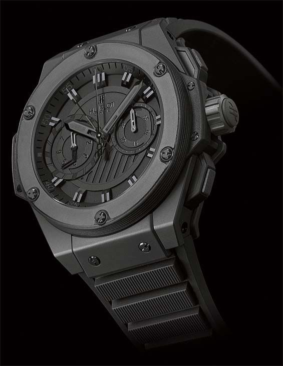 hublot big bang king power foudroyante all black watch pinterest. Black Bedroom Furniture Sets. Home Design Ideas