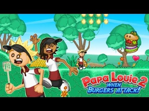 papa louie 2 game when burgers attack