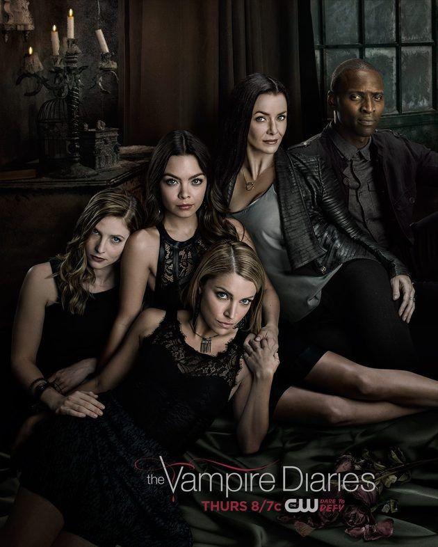 Vampire Diaries Hereges Em Destaque No Novo Poster Da 7ª