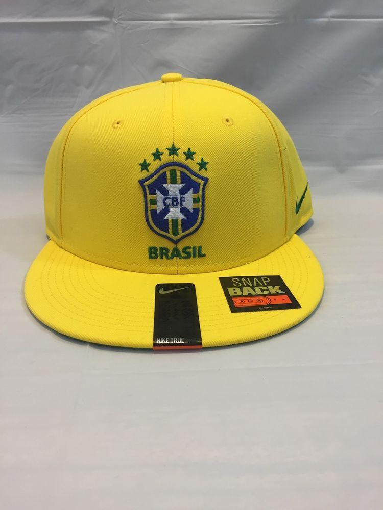 Nike Brasil CBF Snapback Elite  686243 703  Olympic Rio Hat Cap USA  Nike   SnapBack d2929561329