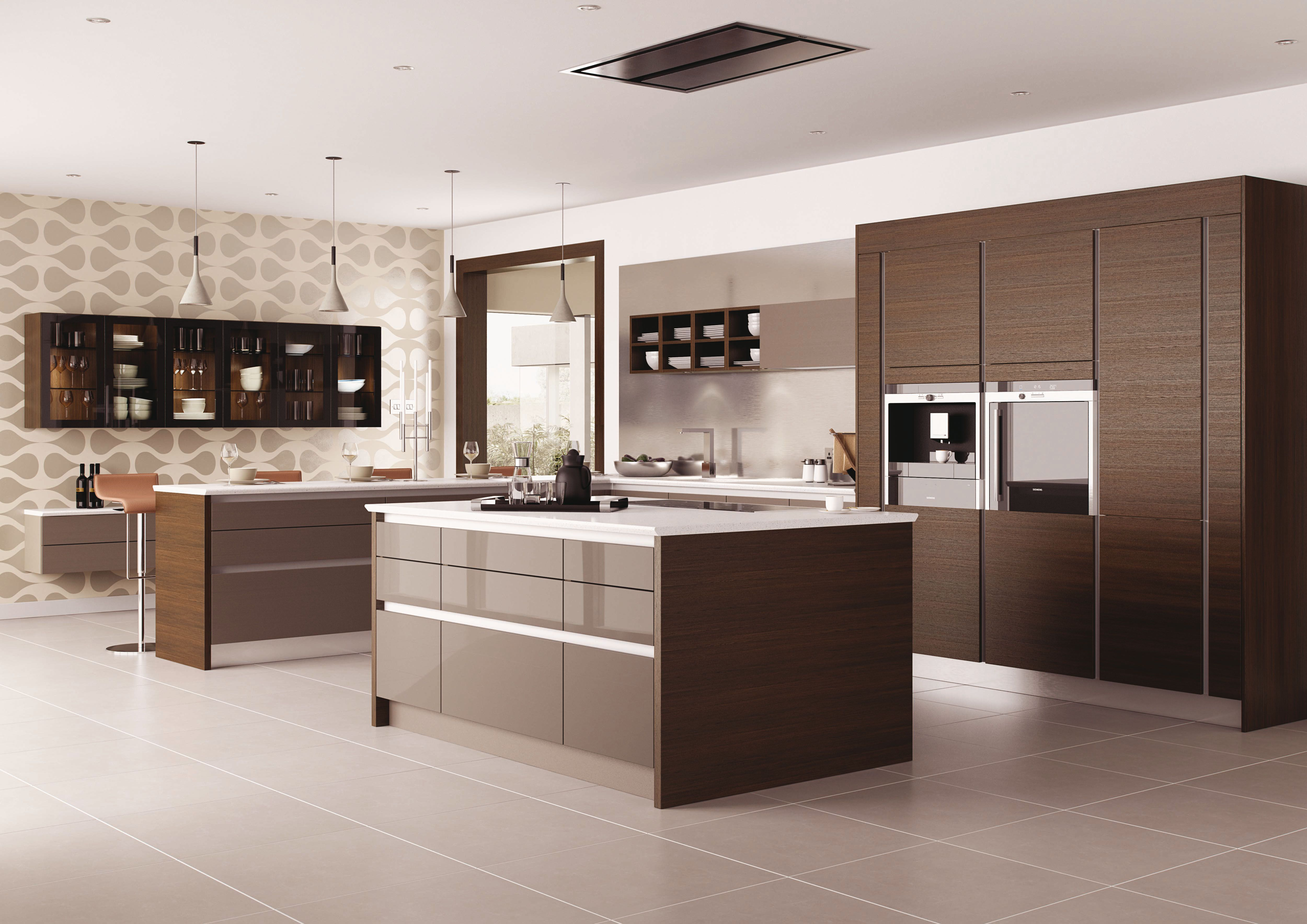 Mereway Kitchens Also Produce Handleless Kitchens In Many Styles And With  Great Design Flexibility. For The Most Modern And Sleek Look Available This  Is The ...