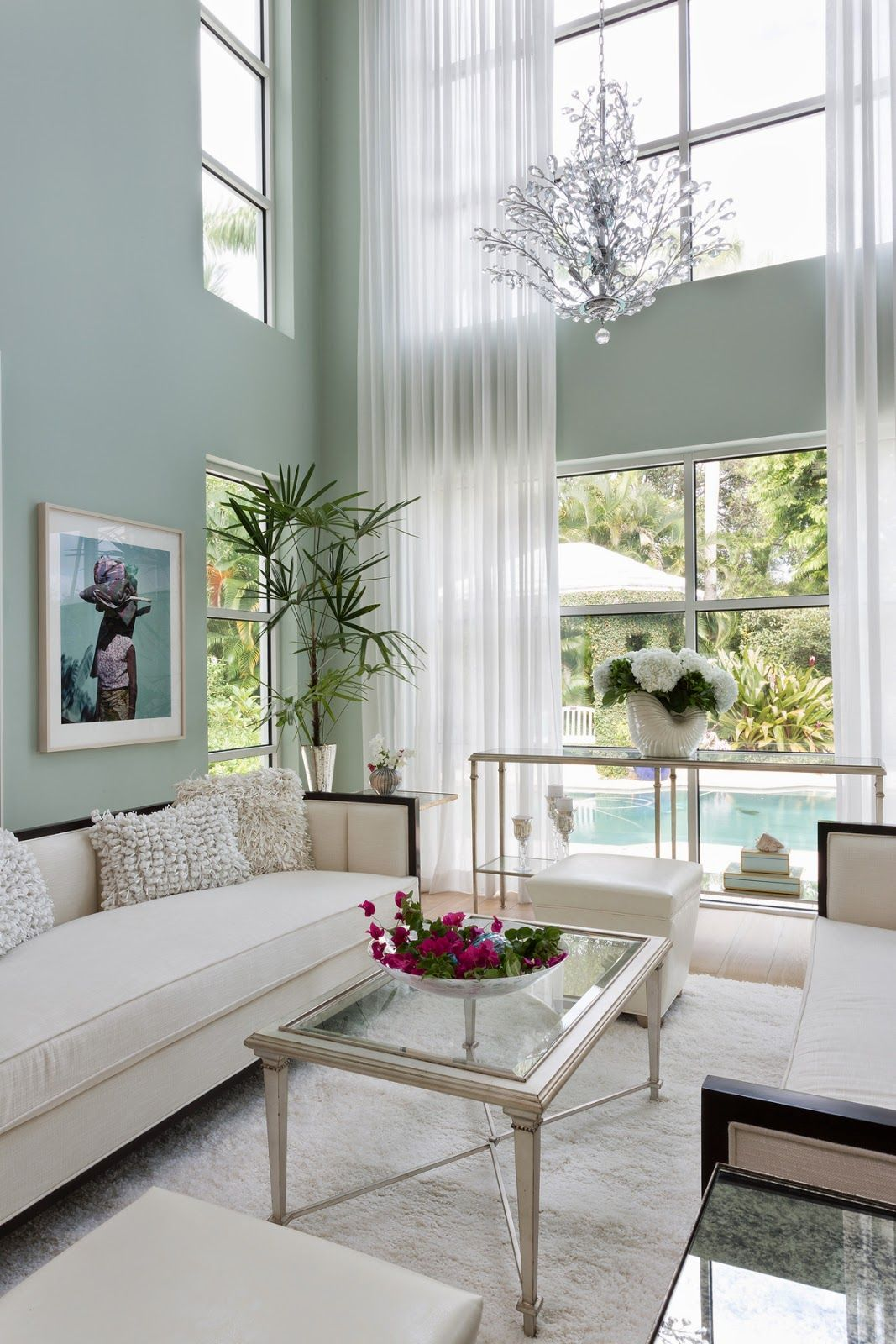 Magnificent Houses   Aqua Blue Beauty Margaux Design