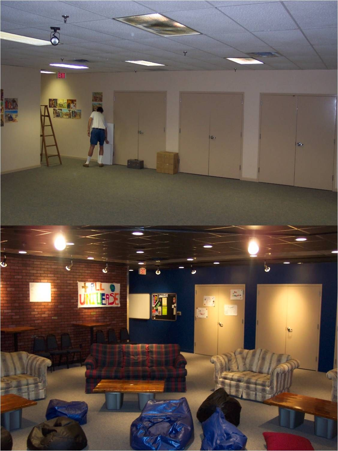 Youth Room Before And After Pics Facing Back I Like How