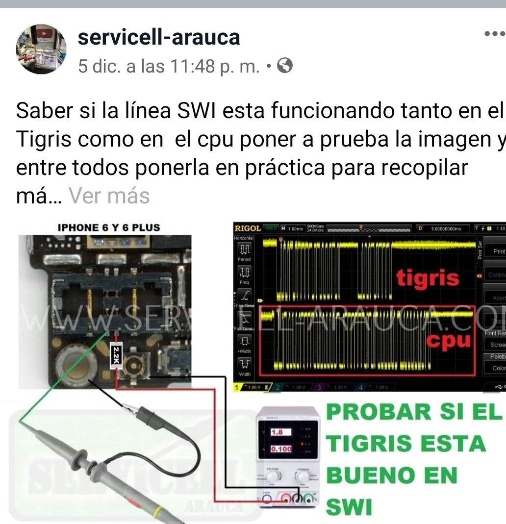 Pin De Tecnicos Smartphone Colombia En Fallas Iphone 6