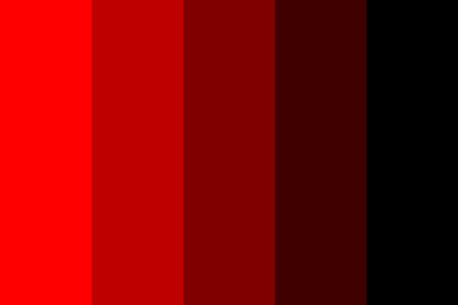 Dark Red To Light Red Color Palette Color Palette Pink Light Red Color Red Colour Palette