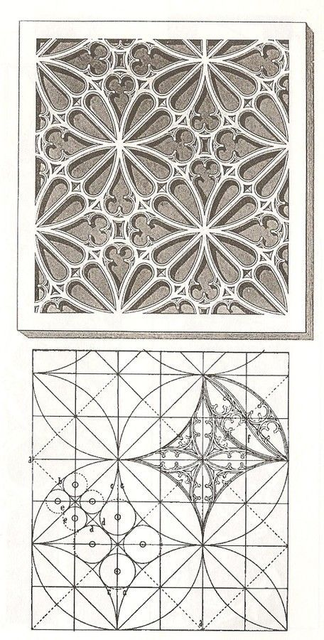 Готический орнамент - геометрия и искусство | Sketching/Art ...