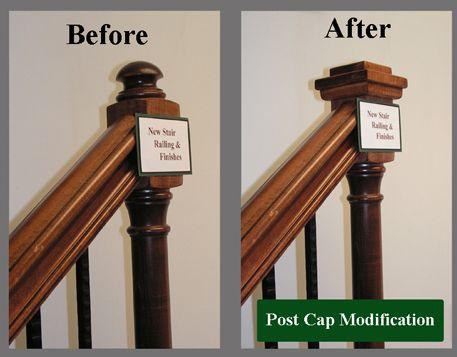 Staircase Remodel Stair Newel Post