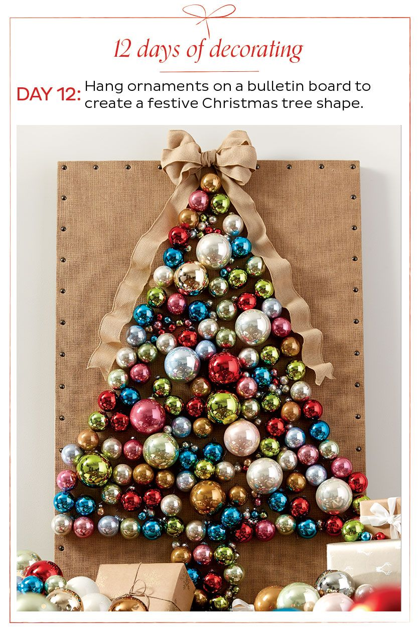 How To Decorate Home Decorating Ideas From Ballard Designs Christmas Crafts Diy Decoration Wall Christmas Tree Unique Christmas Trees