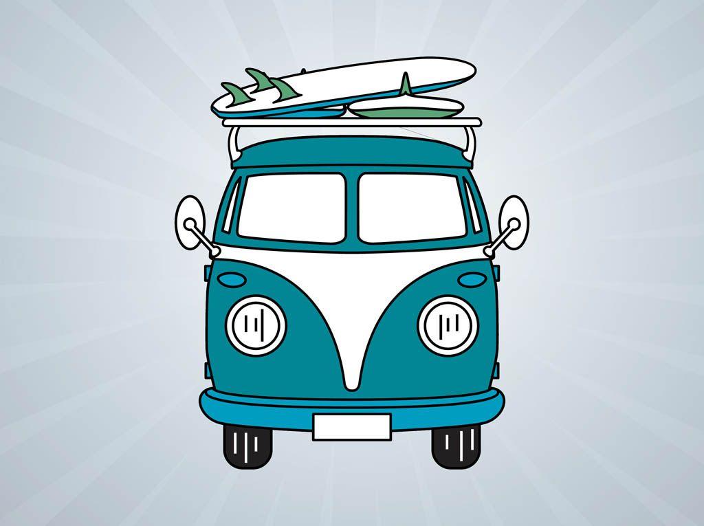 Volkswagen Bus Vector Volkswagen T1 Pinterest