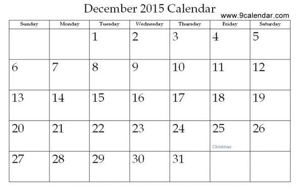 December 2015 Calendar Desktop Calendar Printable Calendar July Free Printable Calendar Calendar Template