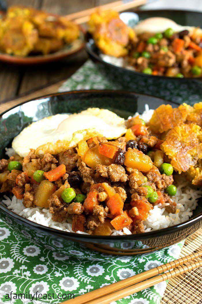 Filipino Picadillo A Delicious One Skillet Dinner Made With Ground Beef Potatoes Raisins And Vegetables I Indian Food Recipes Vegetarian Picadillo Recipes