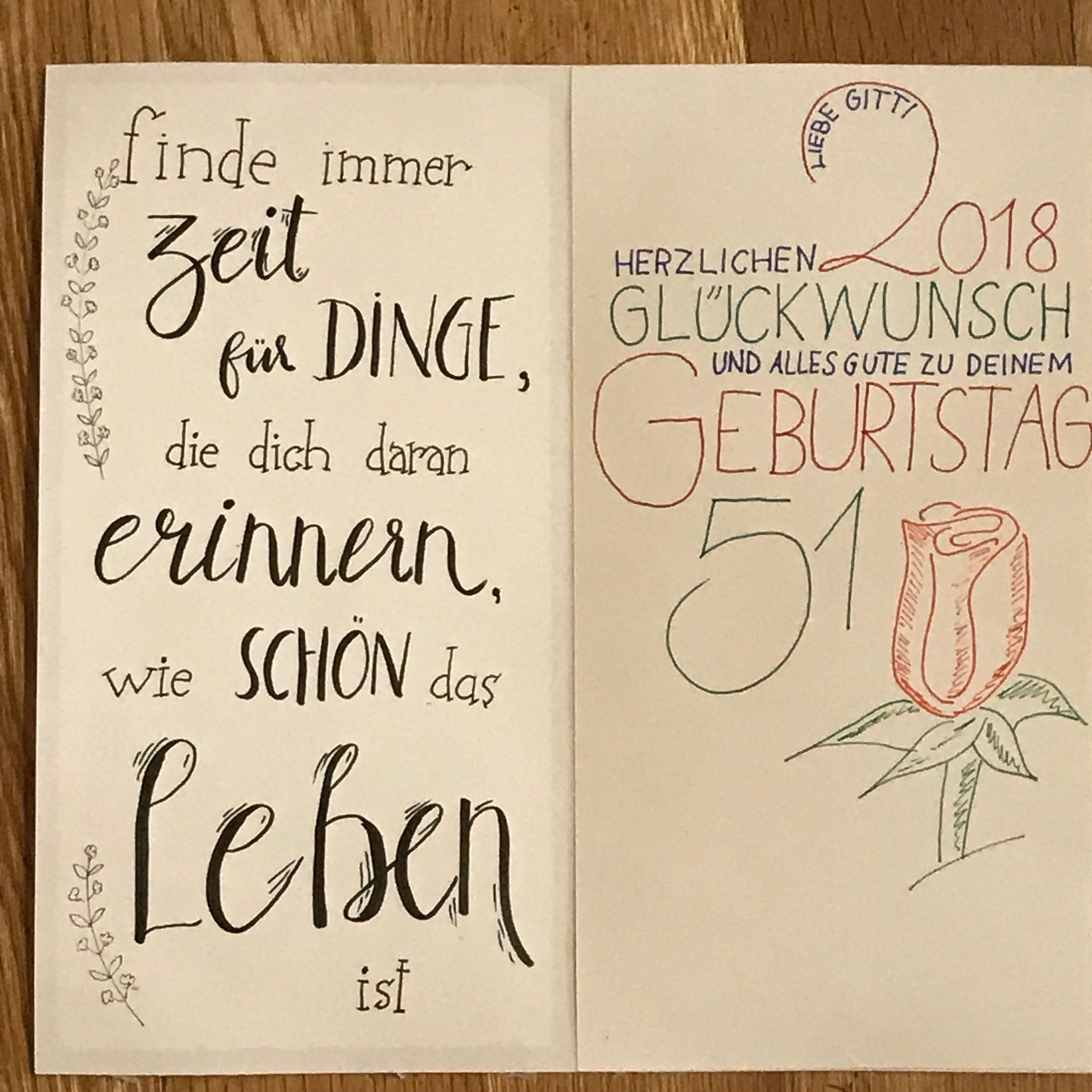 Geburtstag Geburtstag Zitate Gluckwunschkarte Geburtstag