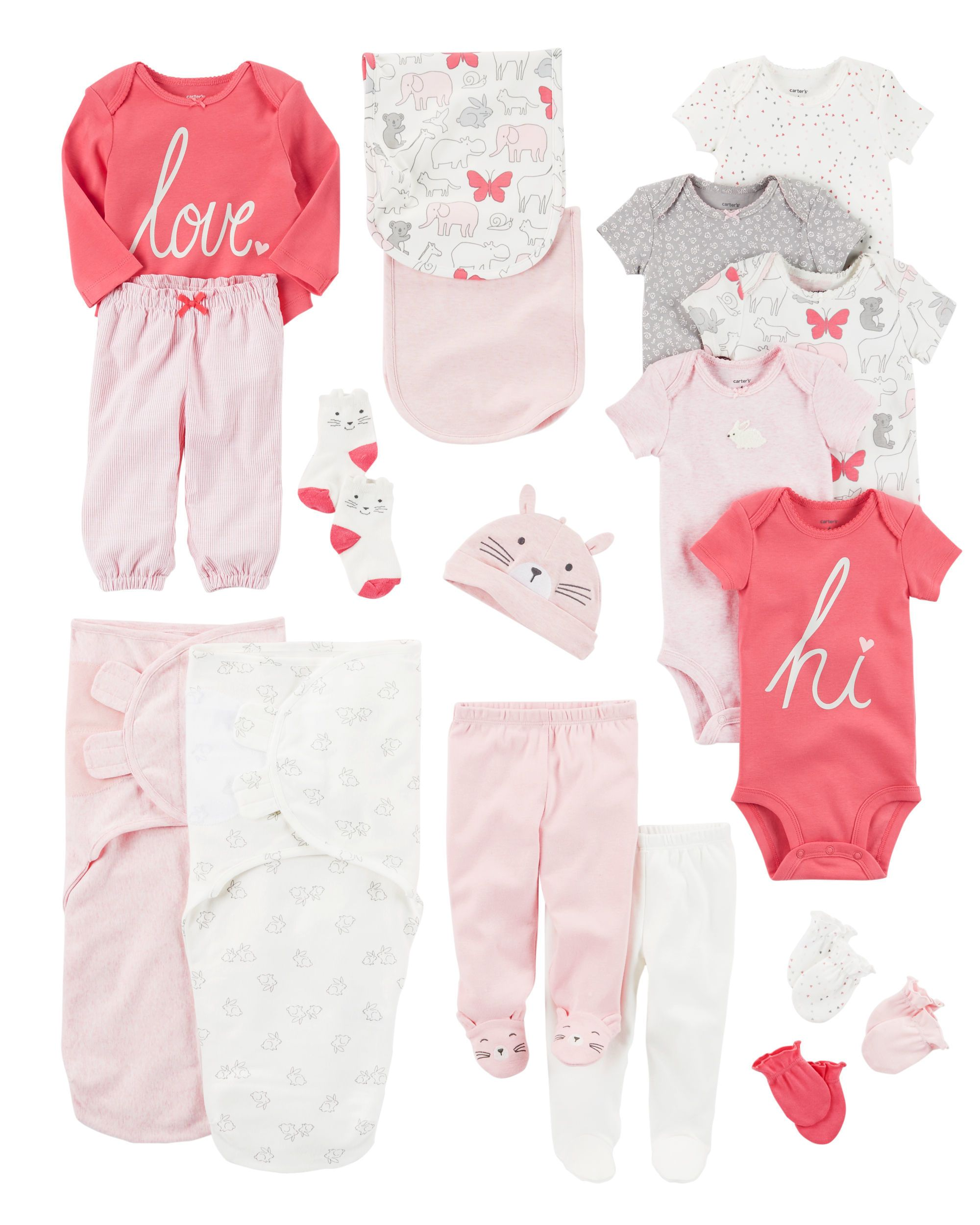 Baby Girl CARMAY1F17 Carters Baby Clothes