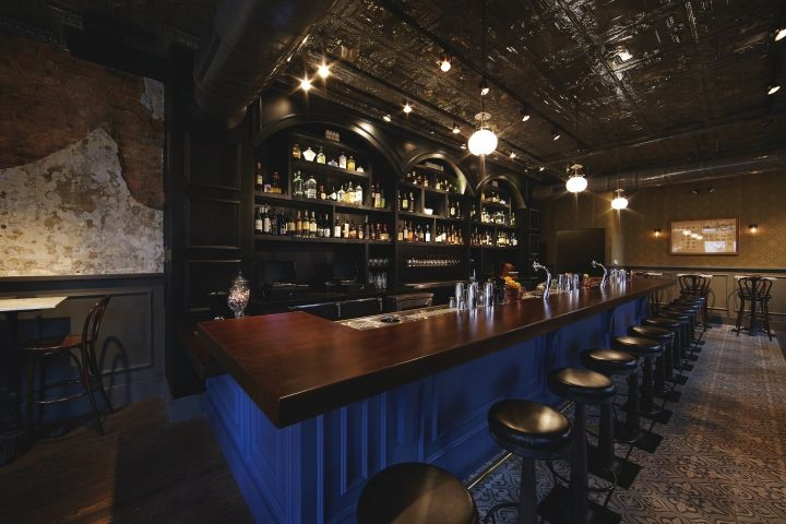 sundry vice bar by prn interior design cincinnati ohio retail