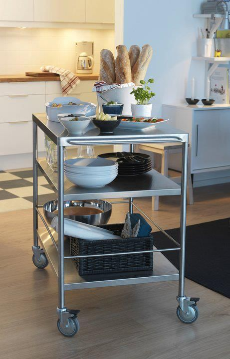 kitchen island table ikea wayfair chairs trolley perfect for my 厨房岛车